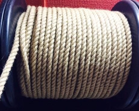 Веревка для шибари джутовая, диаметр 10мм, цена за 1м - фото 42397