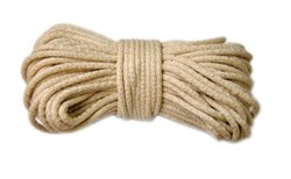 Веревка для шибари джутовая, диаметр 8мм, цена за 10м - фото 42418