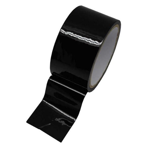 Скотч для бондажа, чёрный, длина 17м - фото 42441