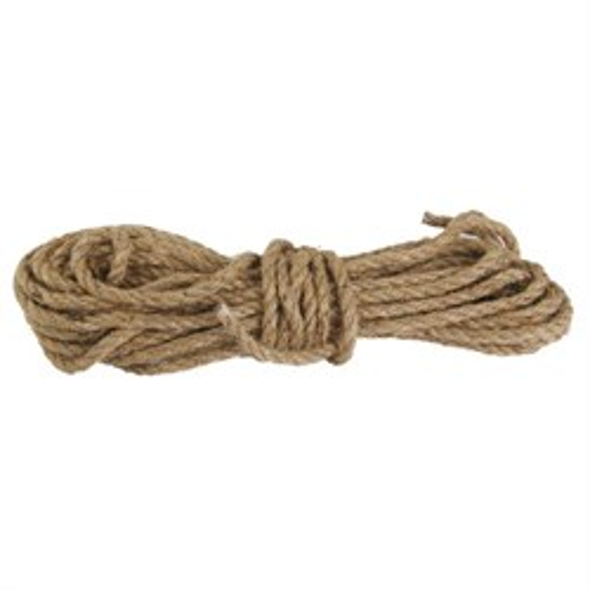Веревка для шибари джутовая, №8, длина 6 м - фото 42461