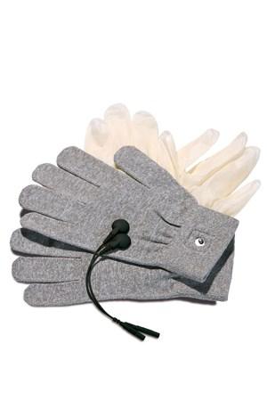 Перчатки для электростимуляции, серые - фото 42594