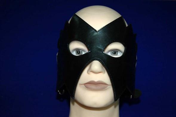Маска на верхнюю часть лица, черная кожа - фото 42685