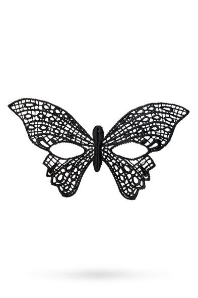 Маска Toyfa Theatre «Бабочка» текстиль, черная - фото 42829