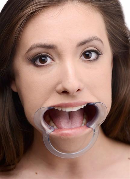 Расширитель рта Dental Mouth Gag прозрачный пластик - фото 42856