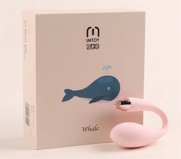 Вибромассажёр Whale для пар гаджетовый, розовый - фото 46462