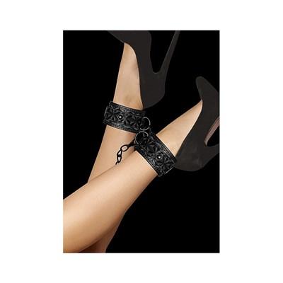 Оковы OUCH! Luxury Ankle Cuffs черные
