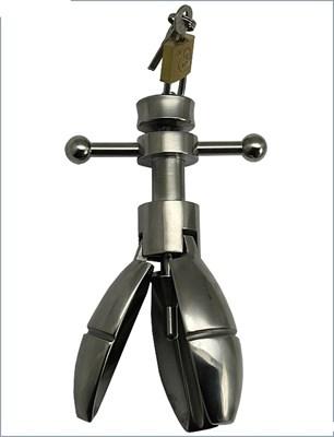 Анальный расширитель из стали, 35х140 мм