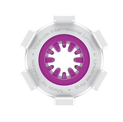 Мастурбатор-ограничитель длинны пениса YouCups фиолетовый