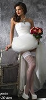 Чулки женские, SP ALLEVIARE 20 bianco, L/XL
