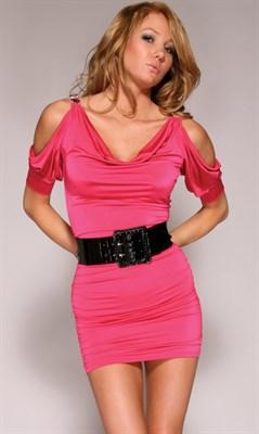 "Платье ""Brilliance"" розовое, М"
