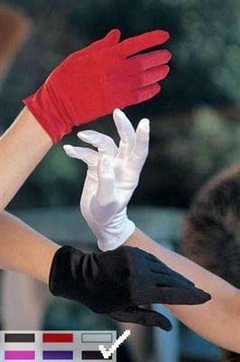 Перчатки темно бордовые