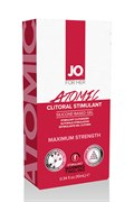 Возбуждающий гель для клитора мощного действия JO Clitoral Atomic, 10 мл