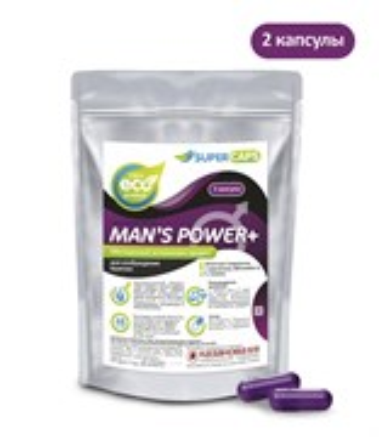 Возбуждающее средство Man's Power plus мужское, 2 капсулы