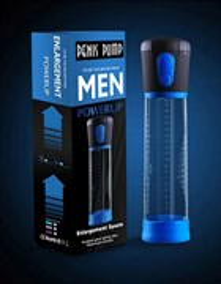 Помпа-автомат мужская Penis Pump, диаметр 6см, длина колбы 20см
