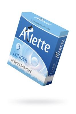 Презервативы Arlette Longer с продлевающим эффектом, 3 шт