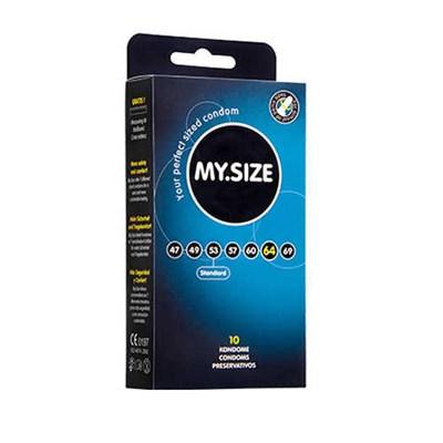 Презервативы MY SIZE увеличенный объем 64 мм, 10 шт