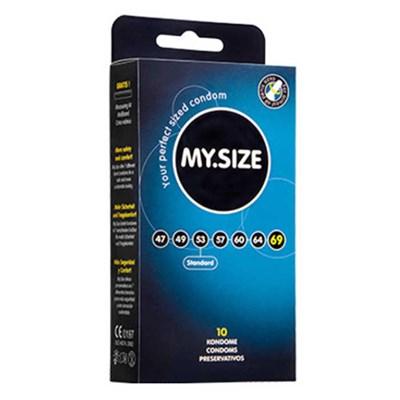 Презервативы MY SIZE увеличенный объем 69 мм, 10 шт