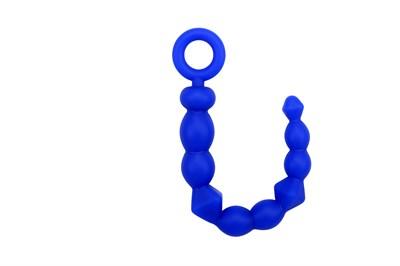 Цепочка Bendy синий силикон Ø=1,9см