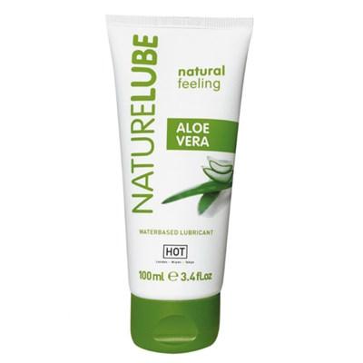 Лубрикант HOT NatureLube Aloe Vera с алое водный, 100мл