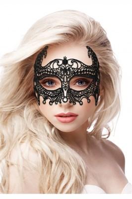Кружевная маска ручной работы на глаза Empress Black Lace Mask